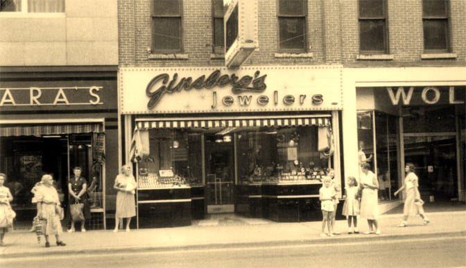Our History | Ginsberg Jewelers | Grand Rapids, IA